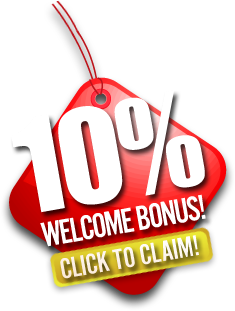 Click To Claim 10% Welcome Bonus Now!